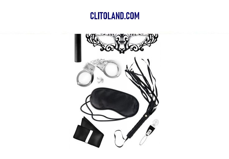 Photo clitoland.com : Coffret de sextoys SM soft pour couple